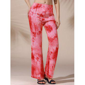 Stylish Floral Print Loose Fitting Straight Women's Pants