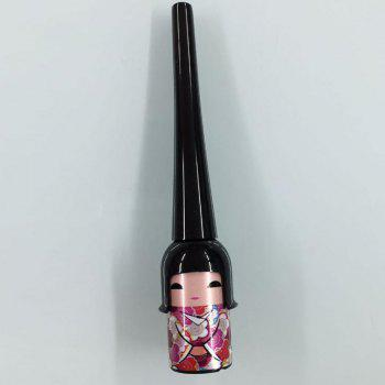 Natural Lucky Black Smooth Long Lasting Smudge-Proof Waterproof Liquid Eyeliner