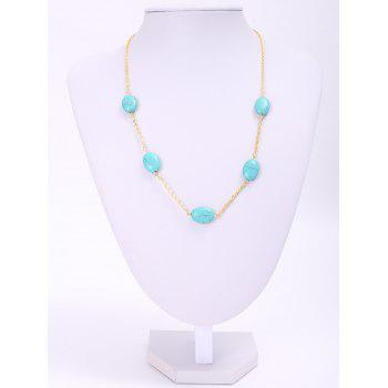 Chic Simple Women's Beads Decorated Necklace