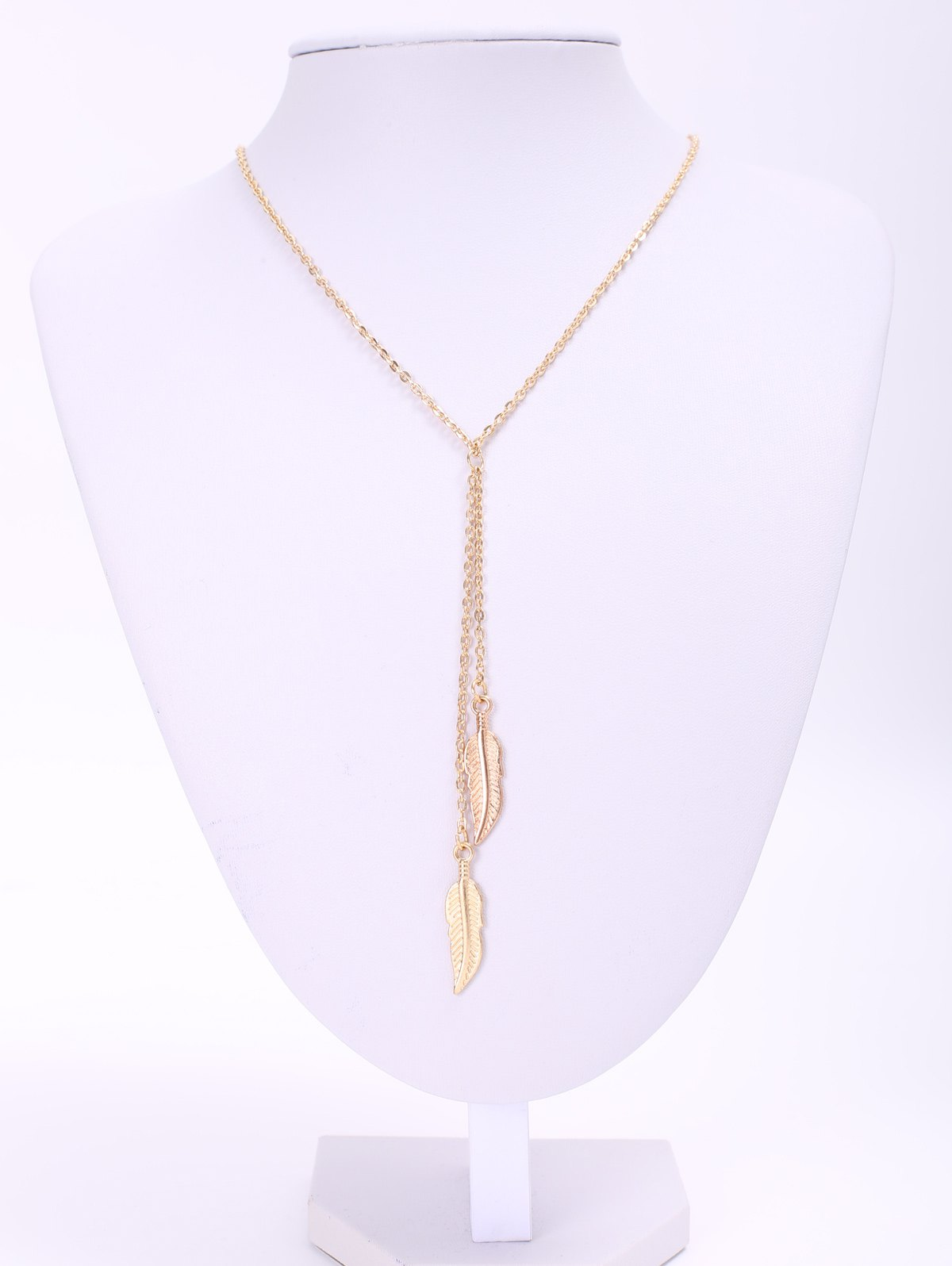 Fashionable Feather Pendant Necklace For Women