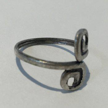 Exquisite Simple Design 8-Shaped Cuff Feet Ring For Women