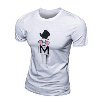Fashion Men's Printed Short Sleeve T-Shirt