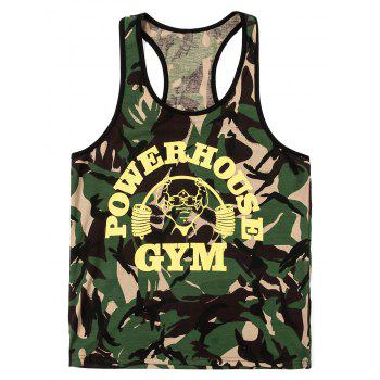 Fashion Camo Men's Tank Top