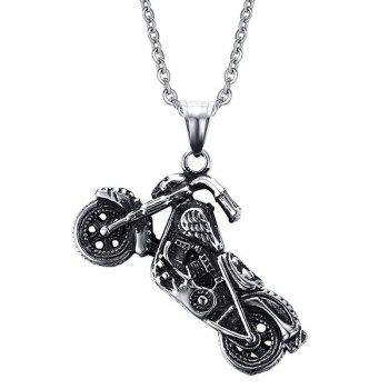 Punk Style Motorcycle Shape Necklace