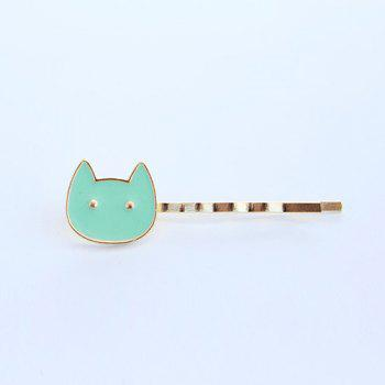 Cute Embellished Kitten Hairpin For Women
