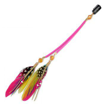 Elegant Bohemia Feather Bead Tassel Hairpin For Women