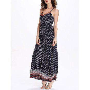 Printed Bohemian Cami Dress - M M