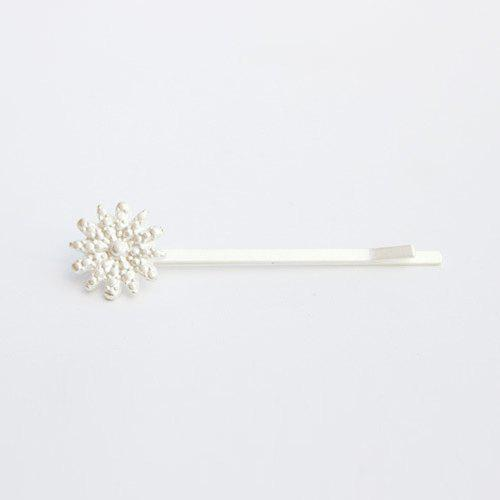 Chic Snowflake Hairpin For Women - SILVER