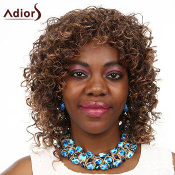 Women's Adiors High Temperature Fiber Curly Wig