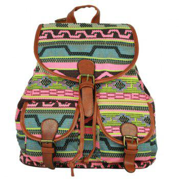 Casual Buckle and Cover Design Women's Satchel