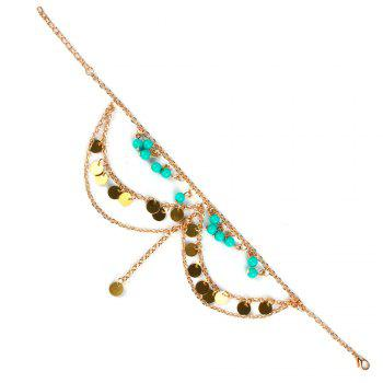 Charming Sequins Beads Anklet For Women