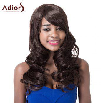 Attractive High Temperature Fiber Adiors Curly Women's Long Wig
