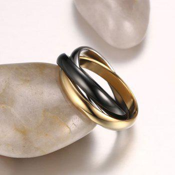 Tricyclic Polished Ring - GOLDEN