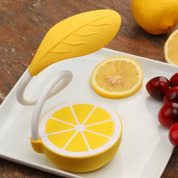 Fresh Style Lemon Flexible LED Table Lamp Touch Control Intelligent Dimming -  YELLOW