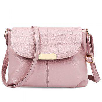 Embossing Design Crossbody Bag For Women