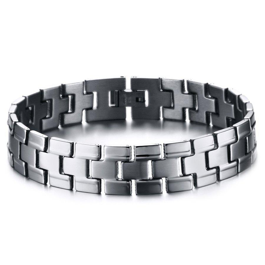 Chic Chains Jewelry Bracelet For Men - SILVER