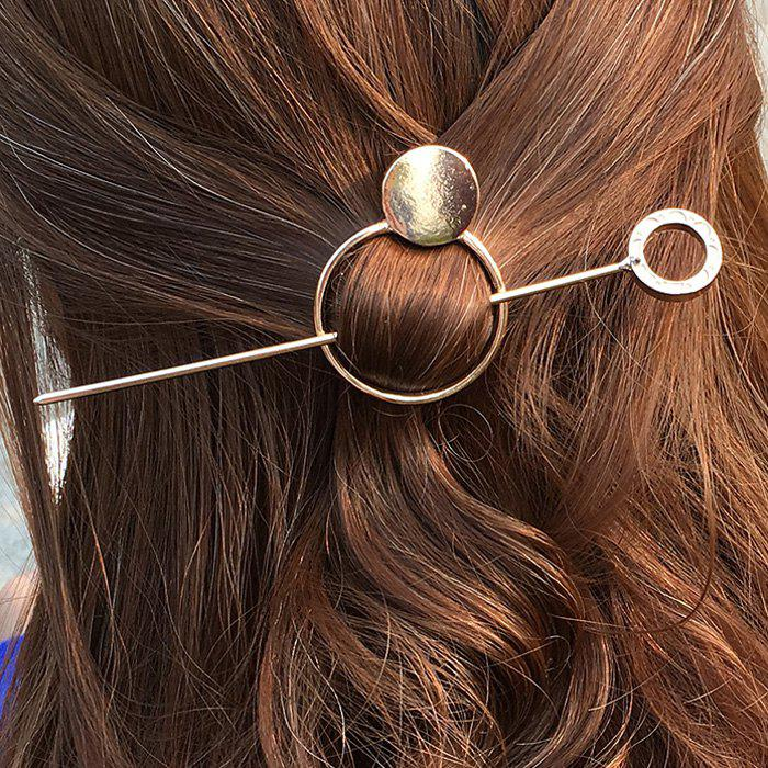Simple Style Geometric Hollow Out Round Chic Hair Stick For Women