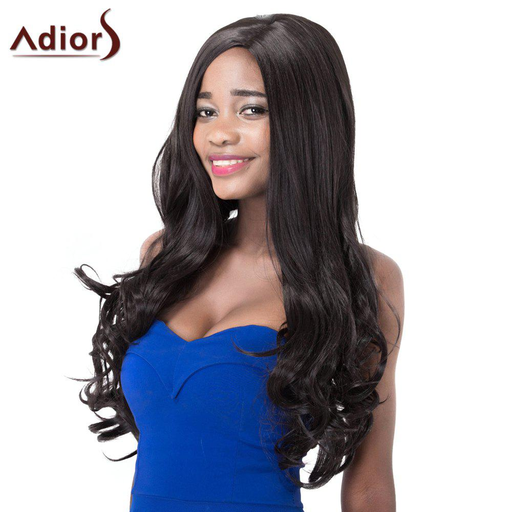 Stylish High Temperature Fiber Adiors Curly Long Women's Wig women s stylish short adiors high temperature fiber wig