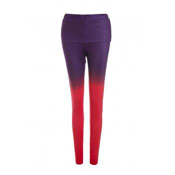 Stylish Ombre Color Bodycon Pencil Pants For Women