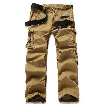 Casual Solid Color Men's Cargo Pants