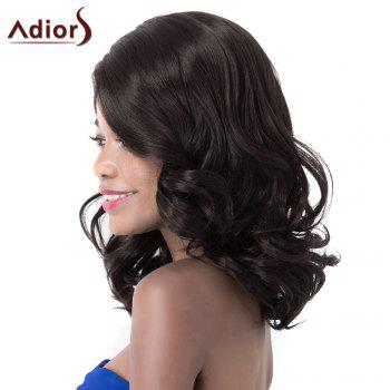 Fashion Curly High Temperature Fiber Adiors Wig For Women - BLACK