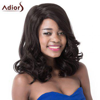 Fashion Curly High Temperature Fiber Adiors Wig For Women