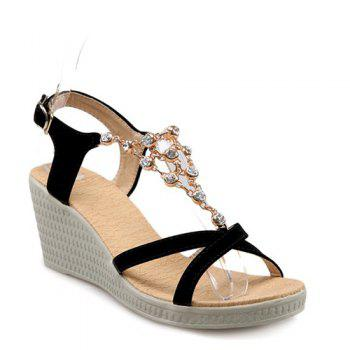 Fashion Metal and Platform Design Women's Sandals