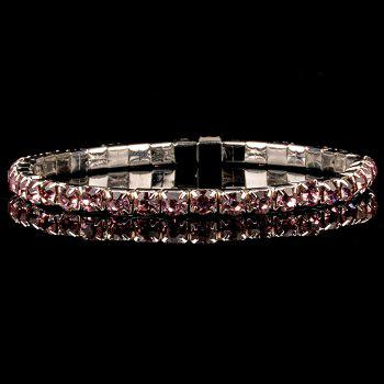 Sweet Embellished Rhinestoned Bracelet For Women