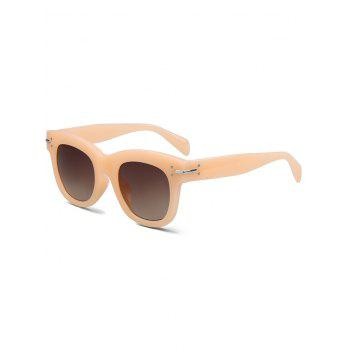 Chic Frosted Orange Sunglasses For Women