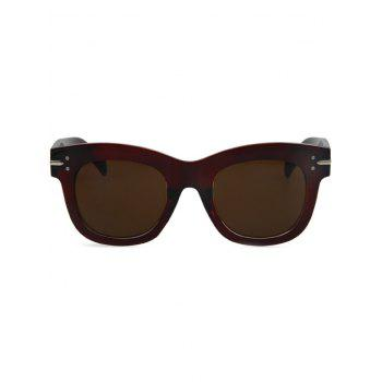 Chic Retro Rewind Sunglasses For Women - TEA COLORED