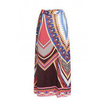 Stylish Printed Loose Fitting Maxi Skirt For Women