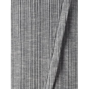 Stylish Jag Middle-Skirt For Women - SMOKY GRAY S