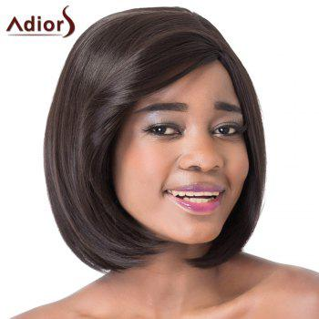 Stunning Short Straight Bob Style Side Bang Synthetic Adiors Wig For Women