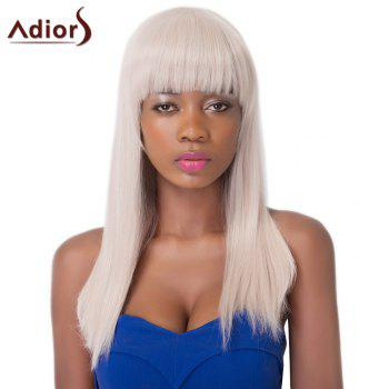 Graceful Long Straight Synthetic Full Bang Adiors Wig For Women