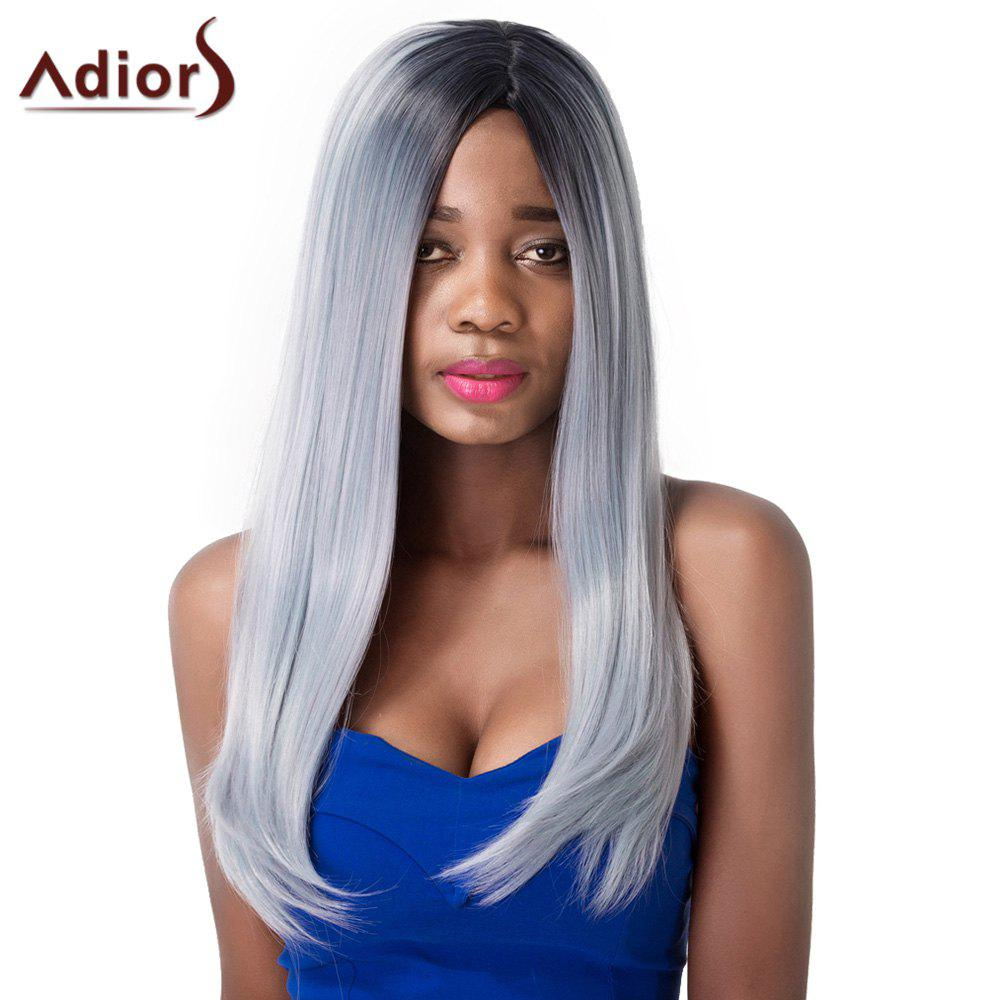 Women's Stylish Straight Synthetic Adiors Wig - OMBRE 2