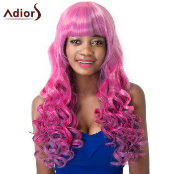 Women's Adiors Curly Long Full Bang High Temperature Fiber Wig