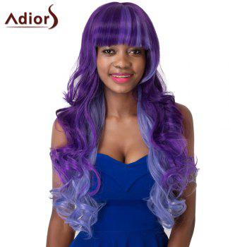 Women's Curly Long Full Bang Adiors High Temperature Fiber Wig