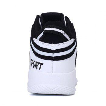 High Top Striped Sneakers - 42 42
