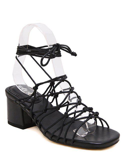 Trendy Lace-Up and Strappy Design Sandals For Women карманные часы boegli m 30
