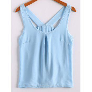 Sweet Women's Scoop Neck Bowknot Embellished Tank Top