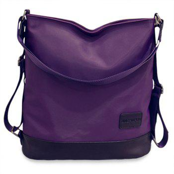 Simple Nylon and Hit Colour Design Women's Shoulder Bag