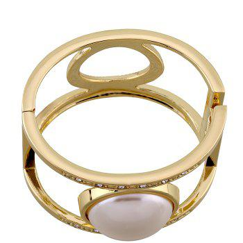 Artificial Pearl Bracelet - GOLDEN