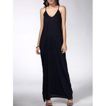 Baggy Sleeveless Maxi Dress
