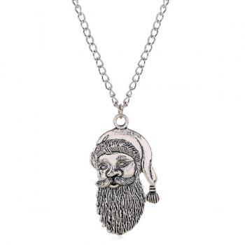 Father Christmas Pendant Necklace