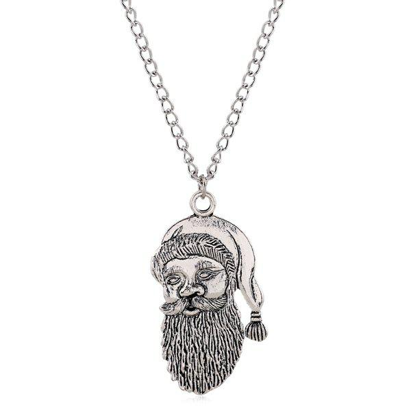 Cute Father Christmas Necklace For Women