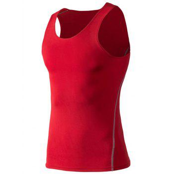 Sports Men's Solid Color Gym Tank Top