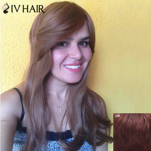 Boutique Side Bang Long Capless 100 Percent Human Hair Wig For Women