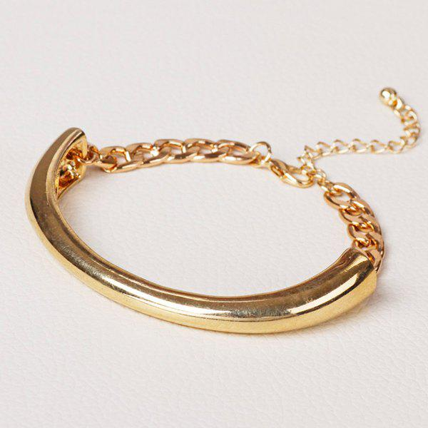 Chic Style Alloy Chain Bracelet For Men