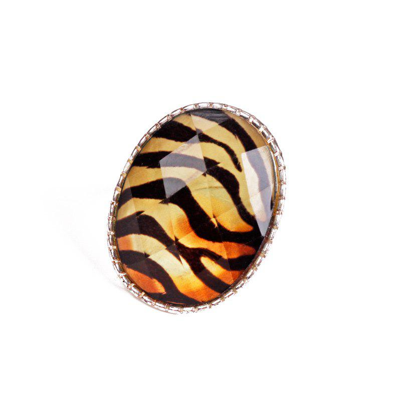 Tiger Stripes Ring - GOLDEN ONE-SIZE