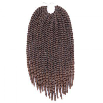 Vogue Braids Synthetic Brown Gradient Senegal Twists Hair Extension For Women